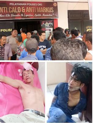 Tertangkap, Begal Jadi Bulan Bulanan Warga Tanjung Rancing