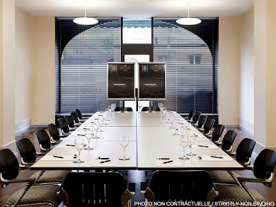 Source: Accor Hotels website on The Retreat Palm Dubai MGallery by Sofitel. Meetings can be accommodated in a 15-man meeting room.