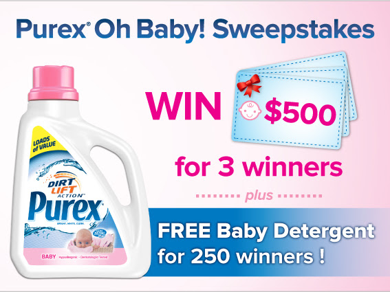 Saving On Baby {Sponsored Post: Purex Baby}