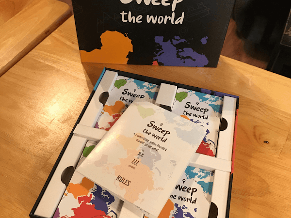 Sweep The World Mixes Geography and Game Play For Fun Learning