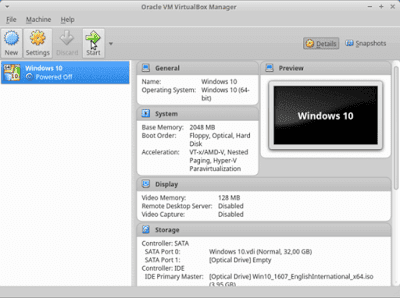 14 - Cara Install Windows 10 Di Virtualbox