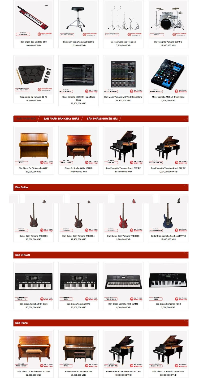 Tất cả các loại nhạc cụ trên thế giới