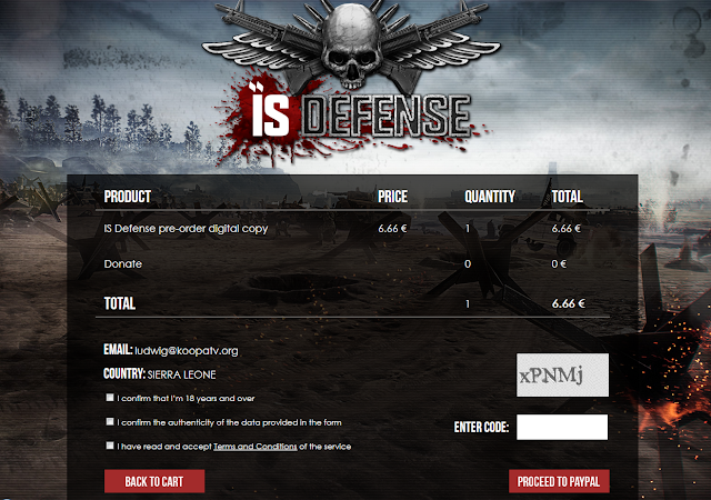 IS Defense pre-order Destructive Creations PC game ISIS videogame digital copy store