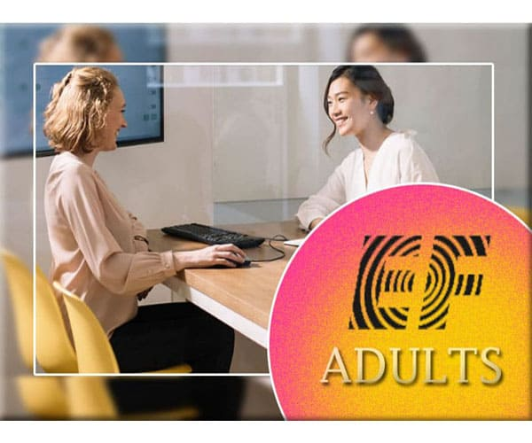 EF Adults kursus bahasa Inggris profesional Kangagos