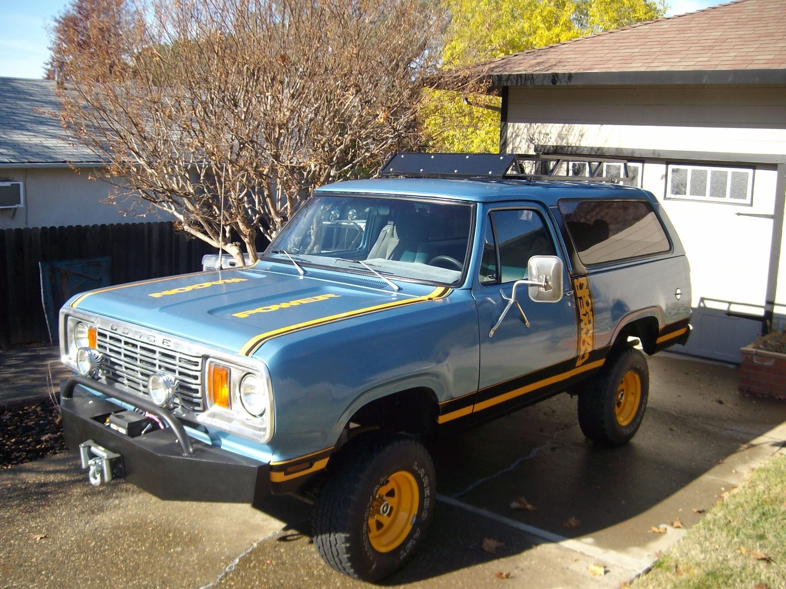 sale dodge for custom ramcharger