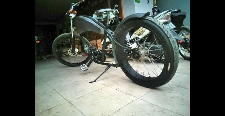 motor listrik klasik Dhika Danielz