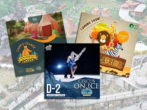 Program tahun baru tempat wisata di Bandung