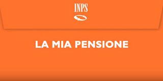 La mia pensione: servizio erogato dal sito INPS