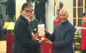 Dadasaheb Phalke Award: Amitabh Bachchan honored with Dadasaheb Phalke Award