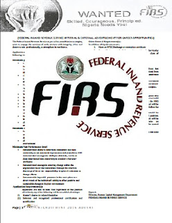 MASSIVE Job Recruitment: FG Opens FIRS Recruitment Portal; See How & All Prerequisite To Apply Here