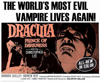 Dracula - Prince of Darkness Poster