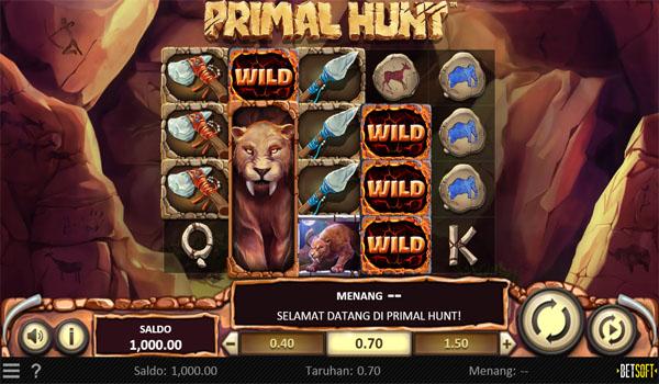 Main Gratis Slot Indonesia - Primal Hunt Betsoft