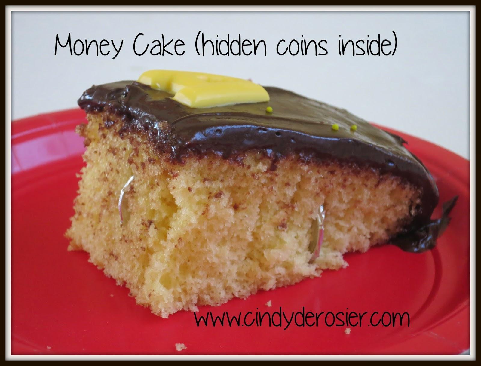 Cindy Derosier My Creative Life How To Make A Money Cake
