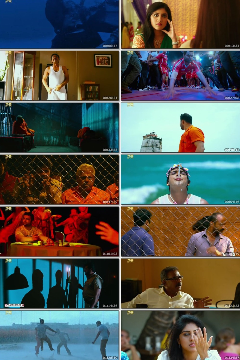 Screen Shot Of Tollywood Movie High Voltage 2019 Full Movie In Hindi Dubbed Free download 720P HD