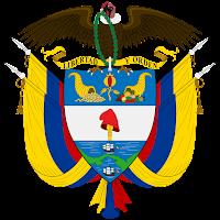 Logo Gambar Lambang Simbol Negara Kolombia PNG JPG ukuran 200 px