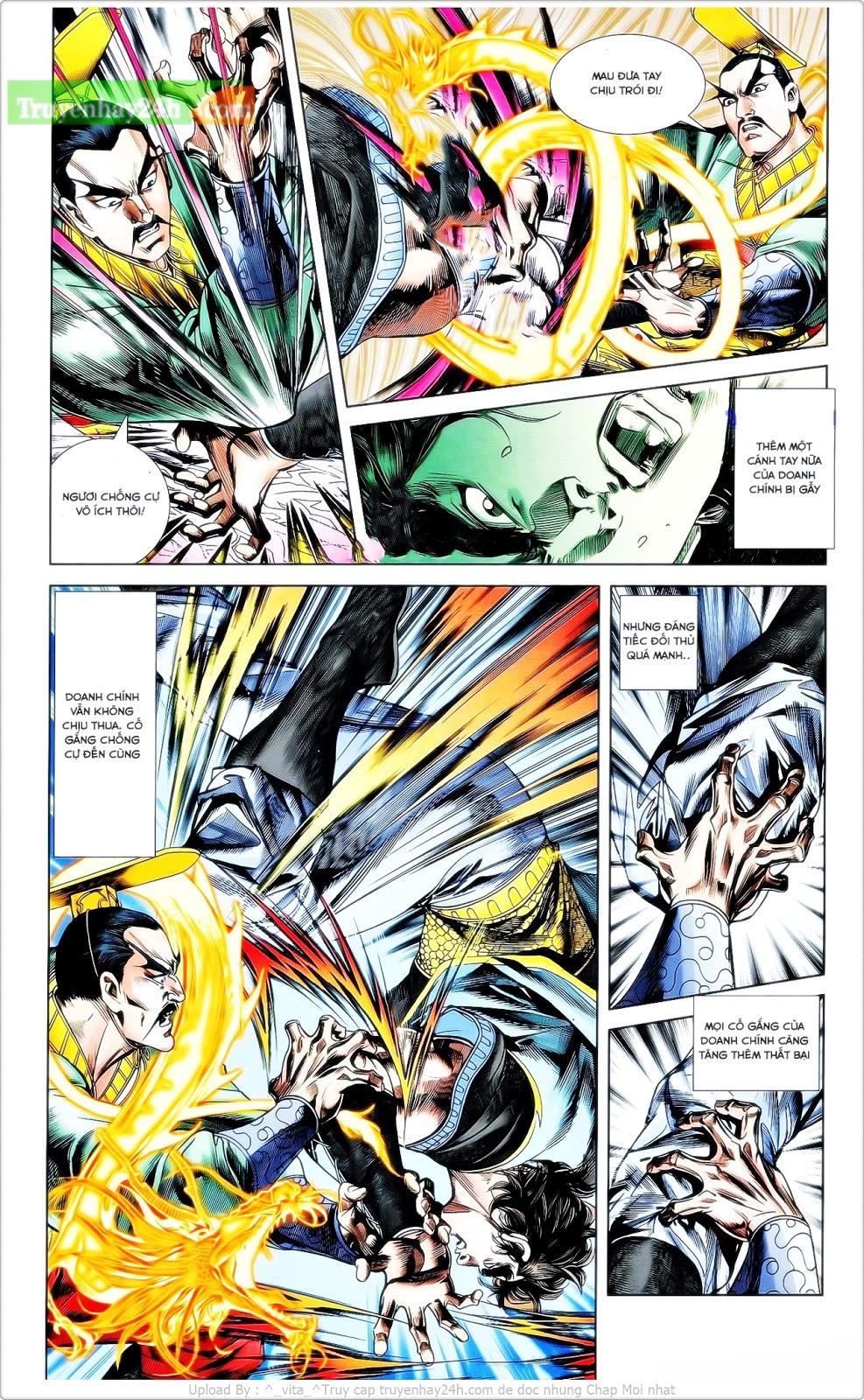 Tần Vương Doanh Chính chapter 24 trang 3