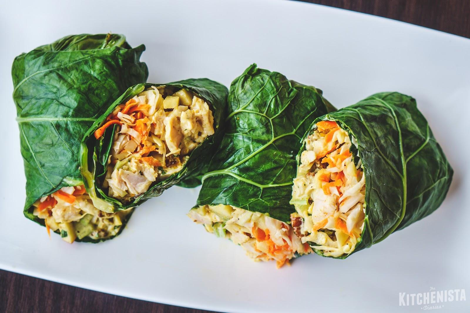 Chicken Salad Collard Wrap advise
