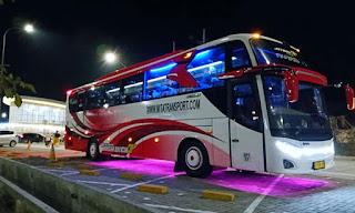 Sewa Bus Jogja Tujuan Jakarta