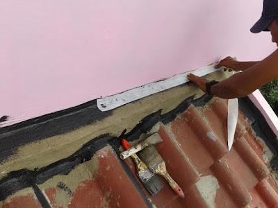 Cara Memperbaiki Sendiri Atap Asbes Yang Bocor Dirumah 2