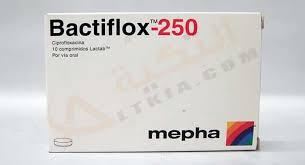 سعر ودواعى إستعمال دواء باكتيفلوكس Bactiflox أقراص مضاد حيوى