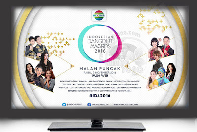 Para Pemenang Kategori Indonesian Dangdut Awards (IDA) 2016