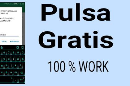 Cara dapat pulsa 50 K GRATISSS!!! Terbaru