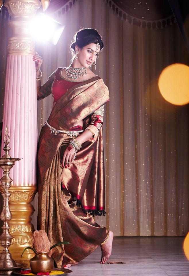 Silk Saree Black Collection
