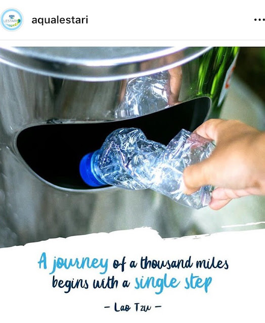 sampah botol plastik menjadi produk fashion siap pakai