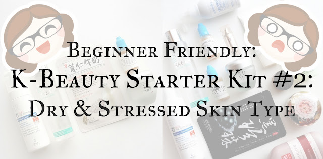 Korean skincare routine for dry skin