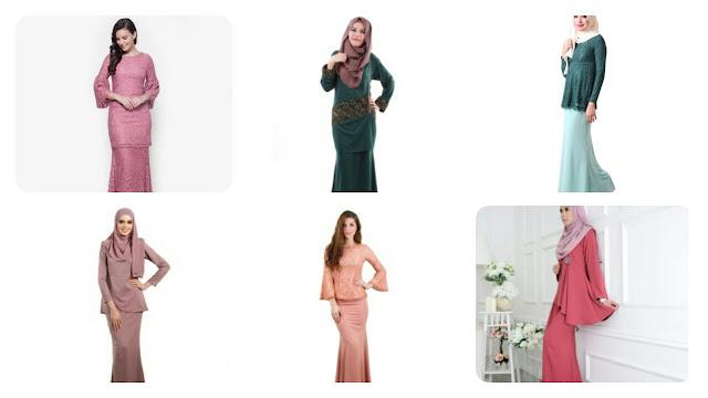 Koleksi Baju Kurung Moden Terkini Tahun 2017