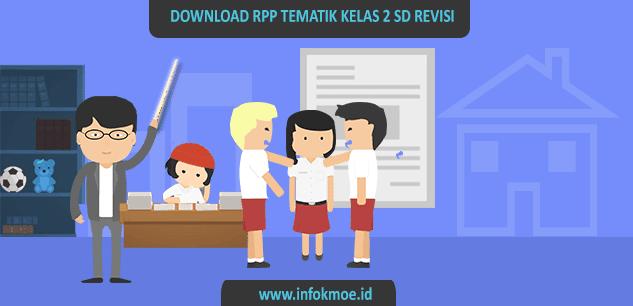 Download RPP Kelas II Kurikulum 2013 Semester 1 dan 2 Edisi Revisi 2017