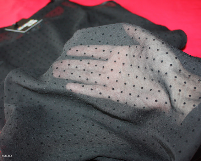 robe Marilyne Plumetis  Les couleurs du noir