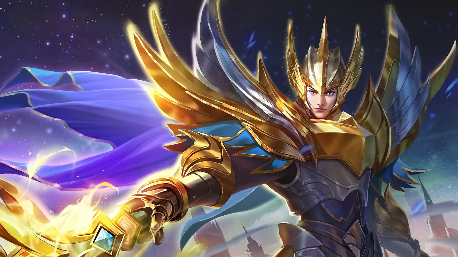 Wallpaper Zilong Glorious General Skin Mobile Legends Full HD for PC