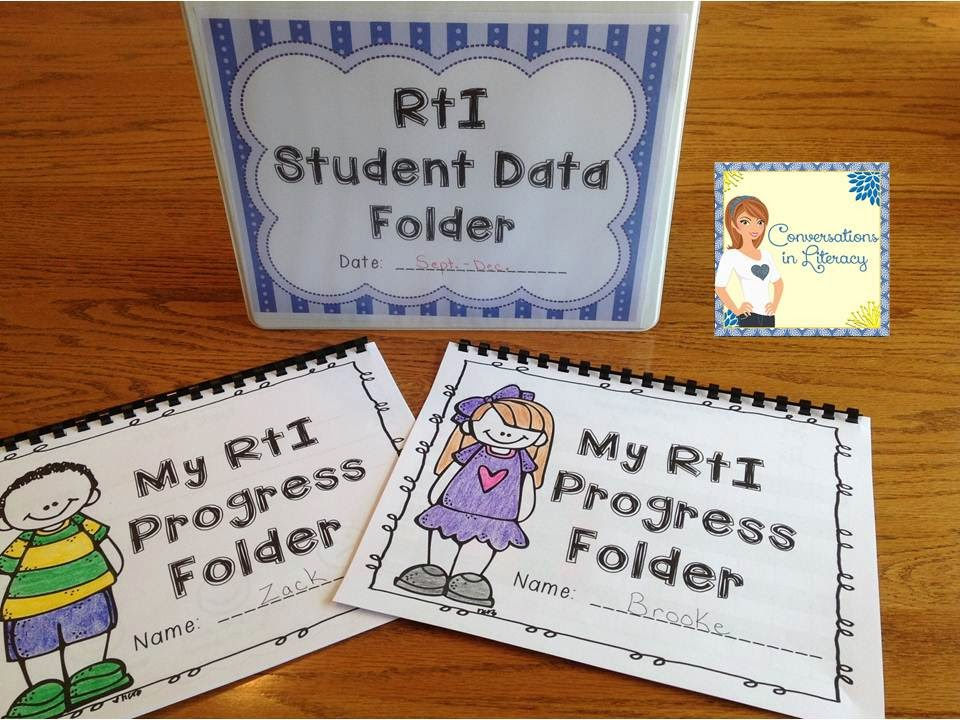 Using Graphs and Binders in RTI to monitor progress