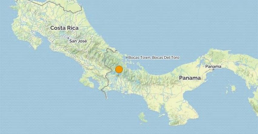 TERREMOTO en PANAMÁ de 5.3 (Hoy Lunes 3 Abril 2017) Sismo Temblor EPICENTRO Cerro Punta - En Vivo Twitter - Facebook - USGS