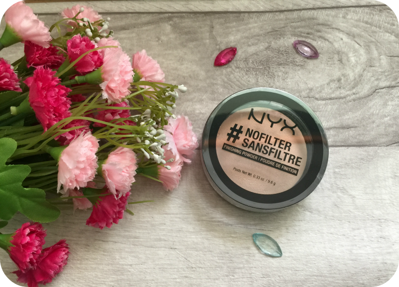 nyx #nofilter finishing powder review