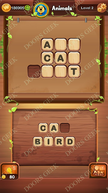 Word Bright Level 2 Answers, Cheats, Solutions, Walkthrough for android, iphone, ipad and ipod