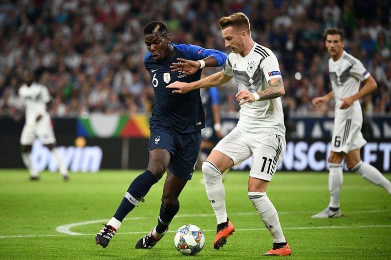 موعد مباراة فرنسا وألمانيا