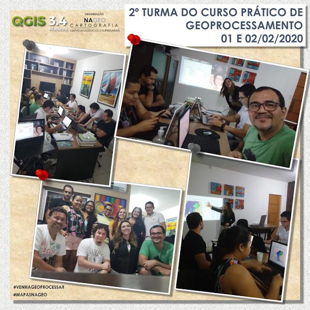 Curso de QGIS em Belém