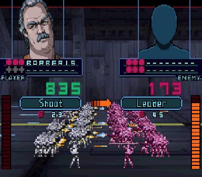 Infinite Space - Melee battle