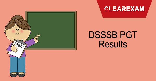 DSSSB PGT Results