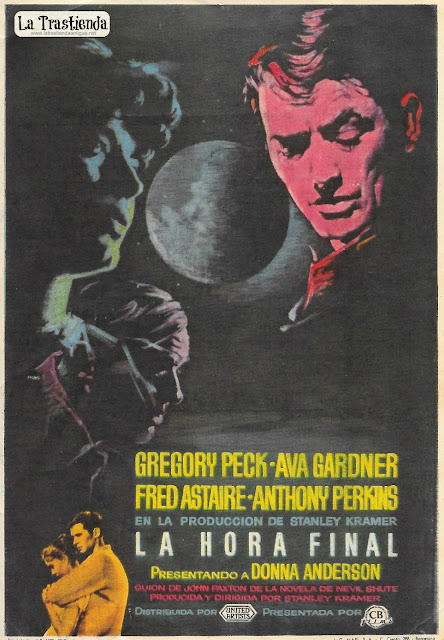 La Hora Final - Programa de Cine - Gregory Peck - Ava Gardner - Fred Astaire - Anthony Perkins
