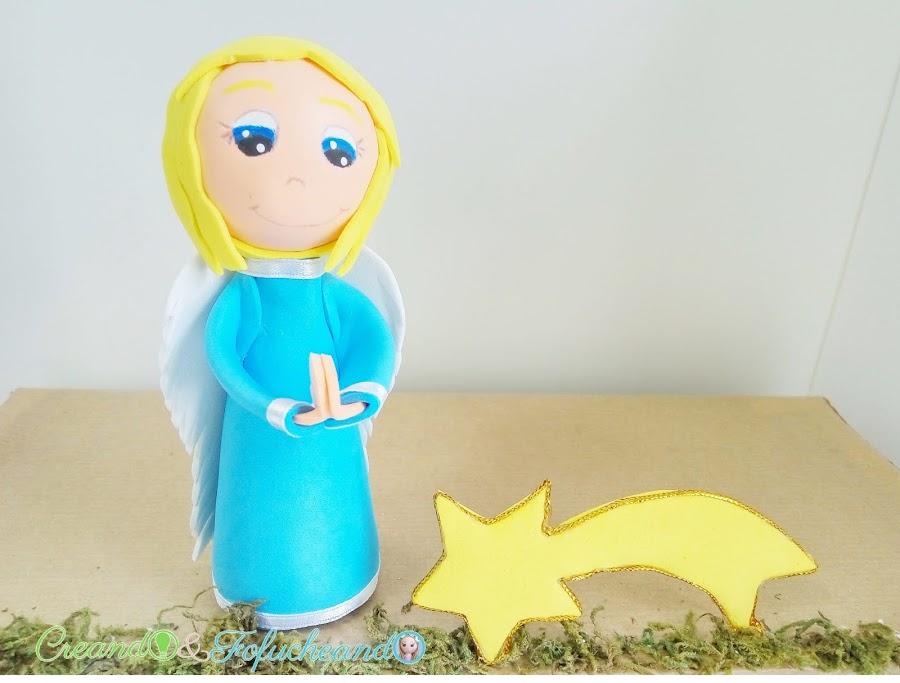 Fofucho-angelito-y-estrella-paso-a-paso-como-hacer-un-portal-de-belen-nacimiento-o-pesebre-de-fofuchos-creandoyfofucheando