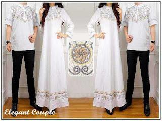 Model Batik Kapel Warna Putih Elegan Sedang Ngetren
