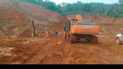 GENPIL SULTRA Akan Laporkan PT. Wanagon Anoa Indonesia ke Mabes Polri dan KLHK Atas Dugaan Penambangan Tanpa IPPKH