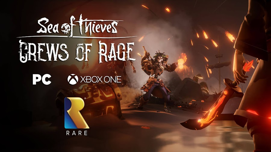 sea of thieves crews of rage free monthly content update dlc pc xb1 dlc rare studio