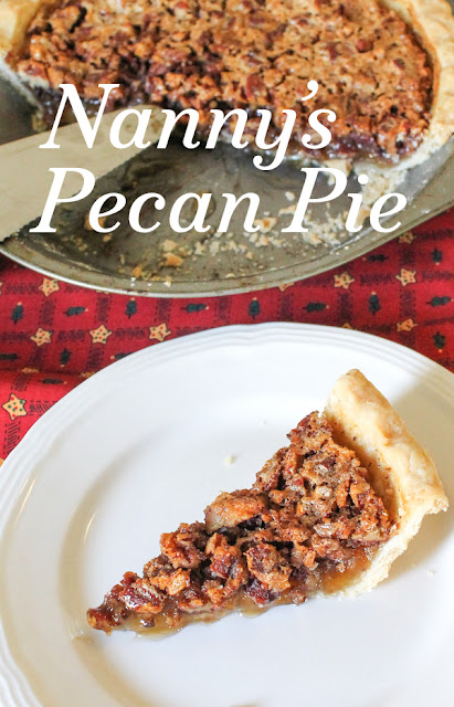 Food Lust People Love: Louisiana pecan pie is chewy and gooey, full of pecans and sticky goodness, in a flakey short crust. Nanny's pecan pie recipe is the best of the best. Christmas is not Christmas without it!