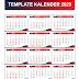Download Desain Kalender 2020 full (Nasional, Hijriyah dan Jawa) Format ai dan cdr