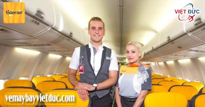 đại lý bán vé máy bay hãng Tiger Air