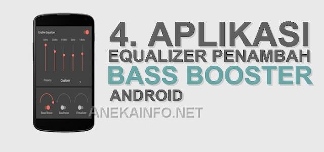 Aplikasi Equalizer Penambah Bass Booster